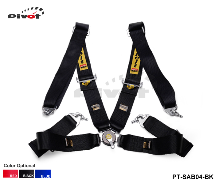 Pivot - 2015 New Racing Satefy Seat Belt FIA 2019 Homologation /width:3 inches/4Point TK-SAB04 Color : Black,Red, Blue(China (Mainland))