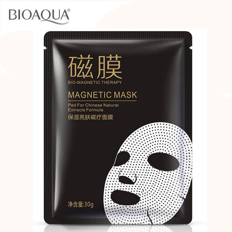 Hydrating brightens magnetic korean face mask patch patch cleansing moisture oil control pores bioaqua skin care treatment mask(China (Mainland))