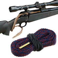 Buy Barrel Cleaning Rope Bore Snake 38/357/380 Cal&9mm Calibre Rifle Barrel Cleaner Rope Hunting Gun Accessories P0.16 for $2.17 in AliExpress store