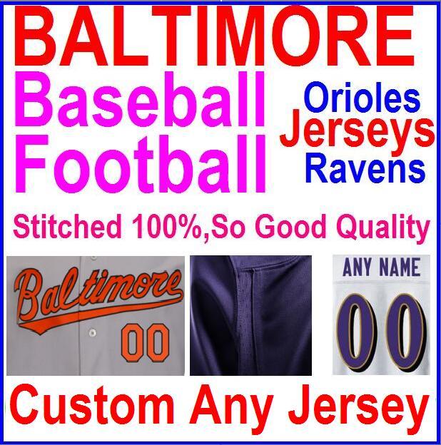 Cheap Authentic Sports Jerseys American Football Baseball Jersey Throwback Baltimore Rrioles Ravens Cal Ripken Jerseys Kid Women(China (Mainland))