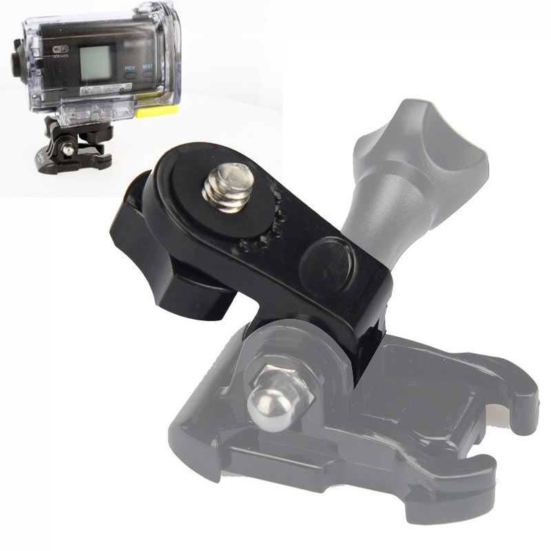 2 Pieces New Bridge Adapter Convert GoPro Mounts for Common Camera With 1/4 inch connector Holes<br><br>Aliexpress