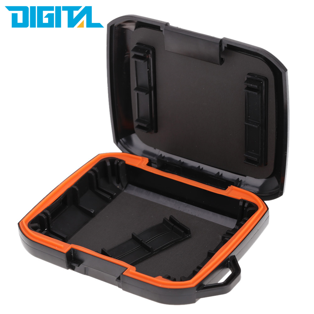 Portable 2.5in HDD Enclosure External Hard Drive hard disk Case Bag Dust/Water/Shock Resistant for Western Digital(China (Mainland))