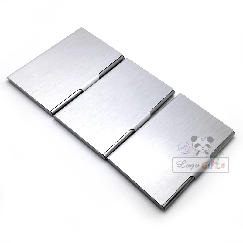 SALE TOP quality stainless steel business name card holder
