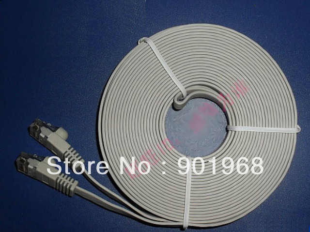 5.0m CAT 6 ethernet cables-support 1000MHz