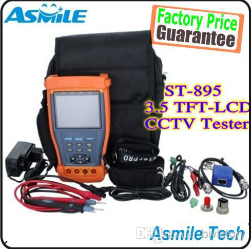 "3.5"" LCD CCTV Video Tester PTZ DC12V/1A Outpu +Multimeter + Optical Power Meter ST895(China (Mainland))"
