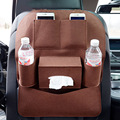 Auto Seat Back Storage Bag Drink Phone organizer Nets Car Styling Covers Durable Automobiles Interior Bulk