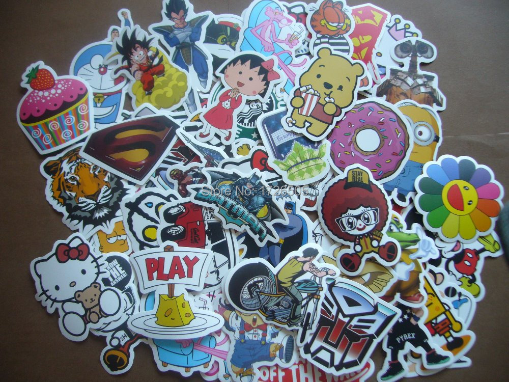 Wholesale Skateboard Stickers Skateboard Sticker Packs