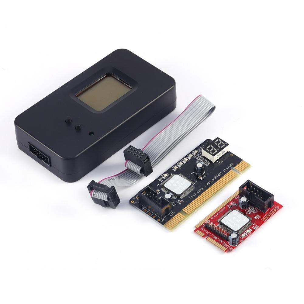 New Mini PCI-E PC PCI Diagnostic Test Tester PC Debug Post Card for Laptop and Desktop(China (Mainland))