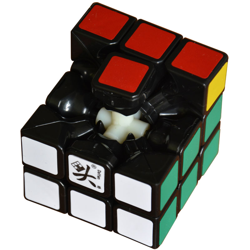 2016 Brand Dayan V3 Lingyun 57MM 3*3*3 Cube Black/White/Stickerless Speed Magic Cube Puzzle Cubes Kids Educational Toys(China (Mainland))
