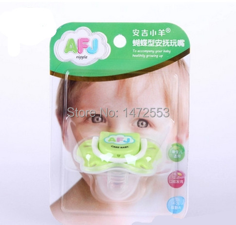 Free shipping refers thumb Butterfly newborn pacifier safe and healthy growth over the age of essential goods 0(China (Mainland))