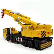 C5501 KDW 1:55 Scale Diecast Mega Lifter Crane Construction Vehicle Cars Model Toys(China (Mainland))