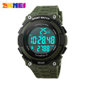 New SKMEI Waterproof Sports Watches Men Women Military Watch Stopwatch 3D Pedometer Led Digital Wristwatch Relogio