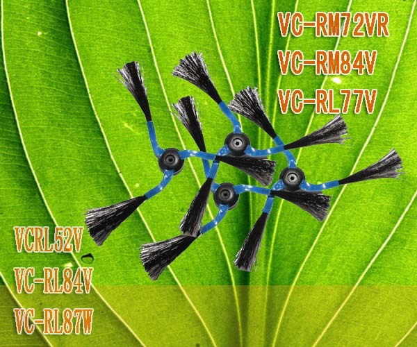 10PCS side brush 3 arms for Navibot SR8730 SR8750 SR8825 SR8849 SR8855 SR8895 SR8980 VC-RL87VR VC-RL87V Free Shipping(China (Mainland))
