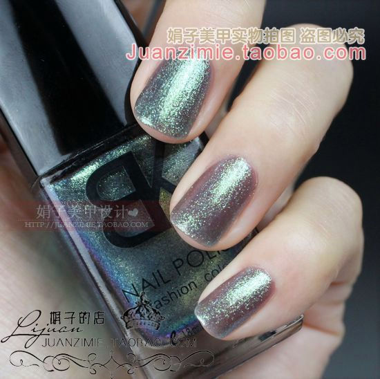 Bottle nail art casebottle bk nail polish oil 18ml 95 silver