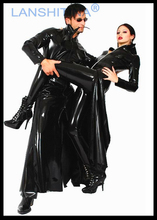 """Buy Sexy Pvc Leather Lingerie Hot!!Latex Lingerie""""Hacker empire cool cool long windbreaker""""Sexy/Erotic/Babydoll/Teddy/Lingerie."""