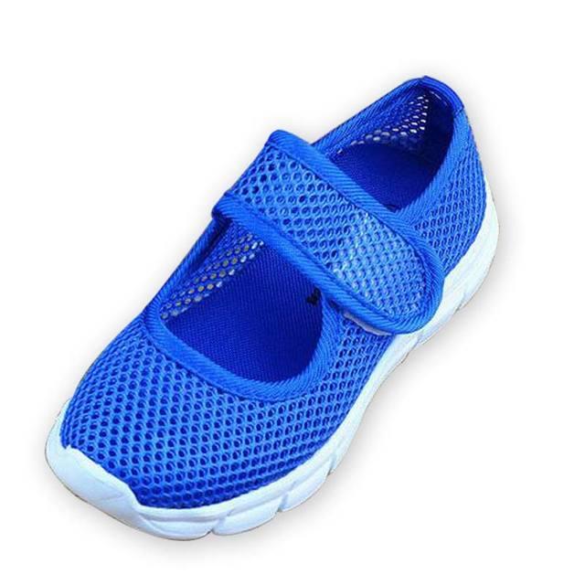 Конфеты цвет летом воздухопроницаемой сеткой детская обувь одиночные чистая ткань ...