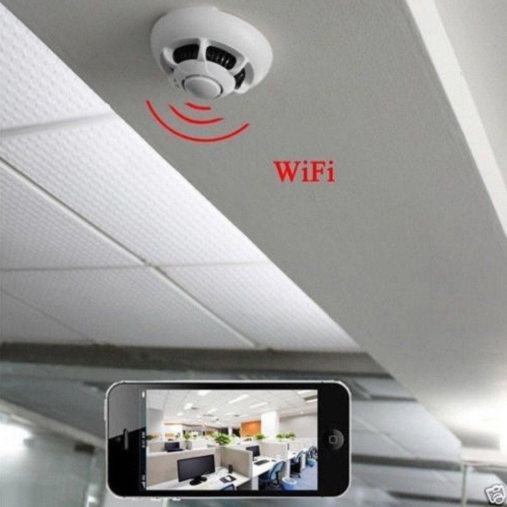 P2P smoke detector Alarm wireless IP camera accessory DVR Digital Video Recorder Smoke Destector use with Alarm Camera(China (Mainland))
