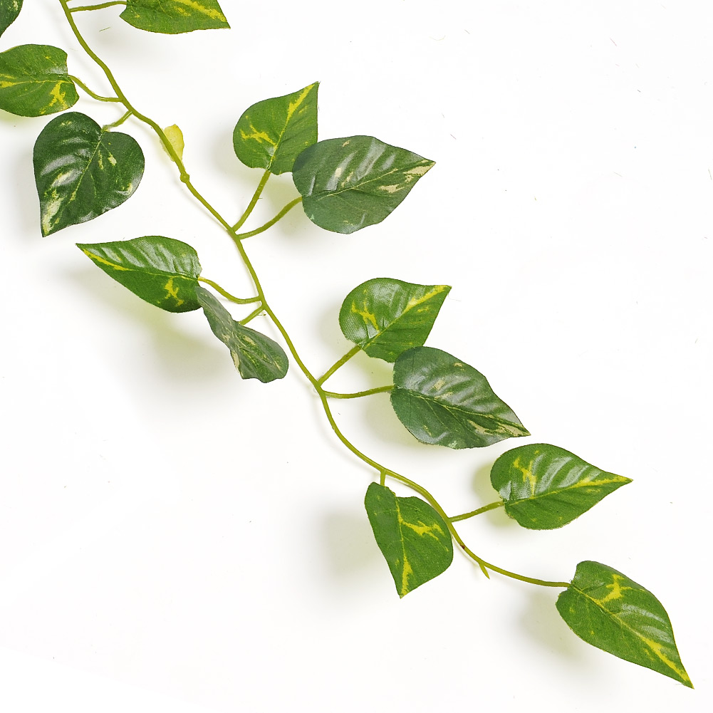 Free Shipping New Delightful Artificial Ivy Leaves Garland Plants Vine 2M Long Home Decor Wedding Party