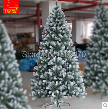 new 2014 white Christmas tree 1.8 meters of snow Christmas tree 180CM high-grade encryption to widen furnishings New Year gift(China (Mainland))
