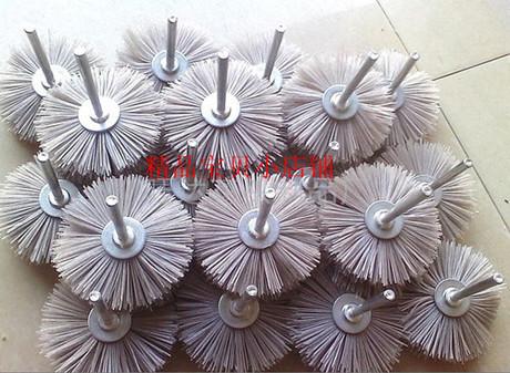 Specials wearable flower head polished mahogany furniture industry round nylon brush brush fibers(China (Mainland))