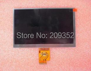 Free Shipping 7 INCH LCD Display Screen For AINOL NOVO7 Crystal Tablet PC HJ070NA - 13A EJ070NA AT070TNA2 V.1 1024*600(China (Mainland))