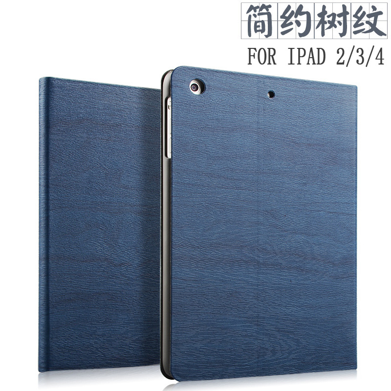 Smart Flip Stand Cover Case for ipad 4 protective sleeve ipad 2 case slim Tablet ipad 3 protective shell Wake Up/Sleep Function(China (Mainland))