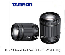 SP AF 18-200mm f/3.5-6.3 DiIII VC zoom lens For Canon EOS 750D 760D 700D 650D 600D 550D 40D 50D 60D 70D 80D SLR(For Tamron B018)(China (Mainland))