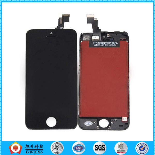 100% guarantee original LCD For iPhone 5 LCD Screen Display With Touch Screen Digitizer Assembly Black with free shipping(China (Mainland))