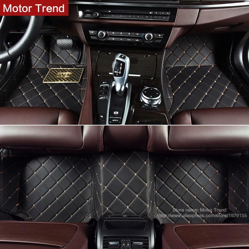 3D Custom fit car floor mats for Honda Accord Civic CRV City HRV Vezel Crosstour Fit car-styling heavey duty carpet floor liner(China (Mainland))