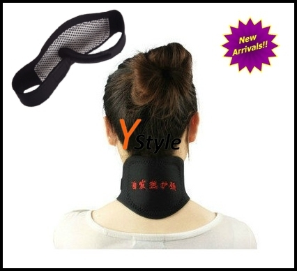 Magnetic Therapy Neck Massage with Spontaneous Heating Function, Anti-Headache Neck Massager Belt Drop Shipping/Free Shipping