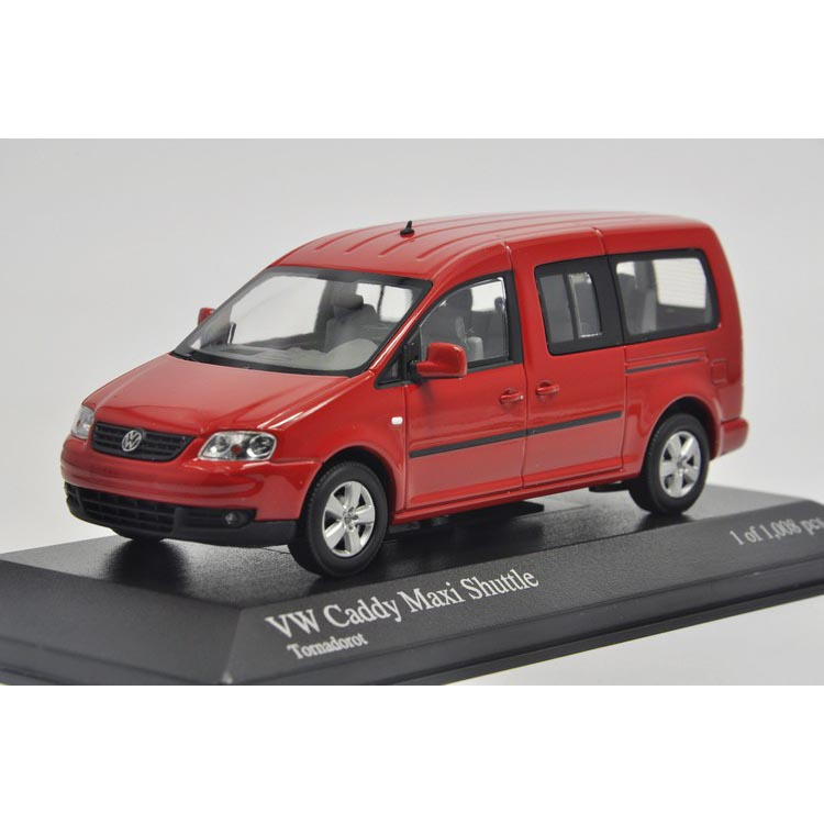 1:43 Mini VW Caddy Maxi cut the large public di Shuttle 2007.<br><br>Aliexpress