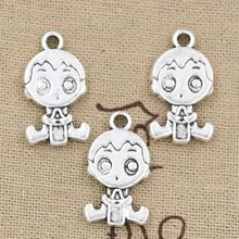 Buy 99Cents 4pcs Charms baby boy 24*13mm Antique Making pendant fit,Vintage Tibetan Silver,DIY bracelet necklace for $0.99 in AliExpress store