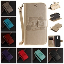 Buy Brand TUKE LG K 10 / M2 F670 3D Embossed Case LG K10 K410 K420N K430DS Phone Bags Flip Cover PU Leather Cases + Lanyard for $4.06 in AliExpress store