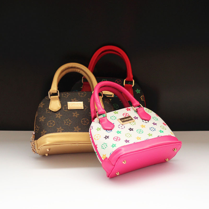 New 2015 Baby Girls Fashion Bags Girl Accessories Kids Handbags Children PU Party Shell Bag Shoulder Bucket bags sling Bolsas(China (Mainland))