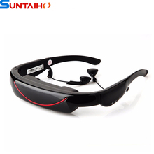 72 pollice 16:9 wide screen virtuale occhiali video con ingresso av 4 gb flash per iphone ipad psp(China (Mainland))