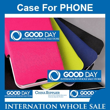 Alcatel one touch Idol Mini 6012 6012A 6012X 6012W Flip Leather Cover Case 500pcs/lot DHL Free Shiping Factory Price Pomotion(China (Mainland))