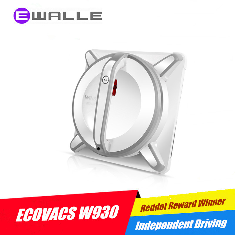 Window Cleaner Robot ECOVACS W930 Full Intelligent Automatic Window Cleaning Robot, Framed and Frameless Surface Both Appliable(China (Mainland))
