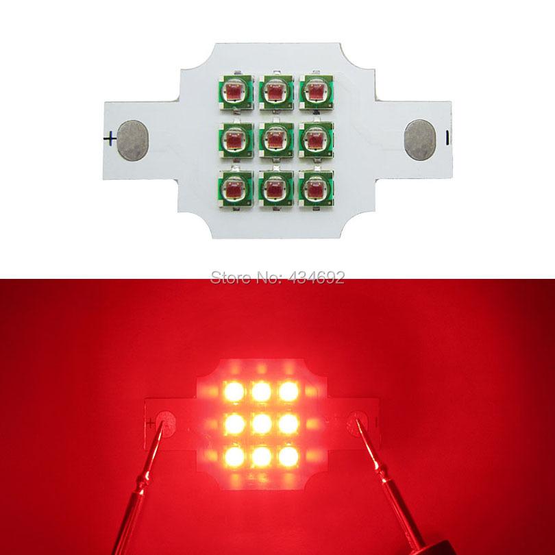 3 Series 3 Parallel Cree XP-E XPE 10W - 20W LED Emitter Light White 6000-6500K Red 620NM 900-2000mA DIY Led Spotlight Lamp Light(China (Mainland))