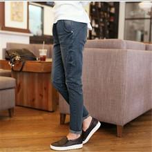 Fashion Jeans Woman Casual Trousers Retro Denim Jeans Cowboy Pants Plus Size Women's Clothing Elastic Waist Harem Pants C1252