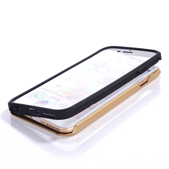New Arrival Slim Silicone Case Screen Protector water/Dirt/shockproof cell phone cases covers For iphone 6 plus 5.5 inch(China (Mainland))