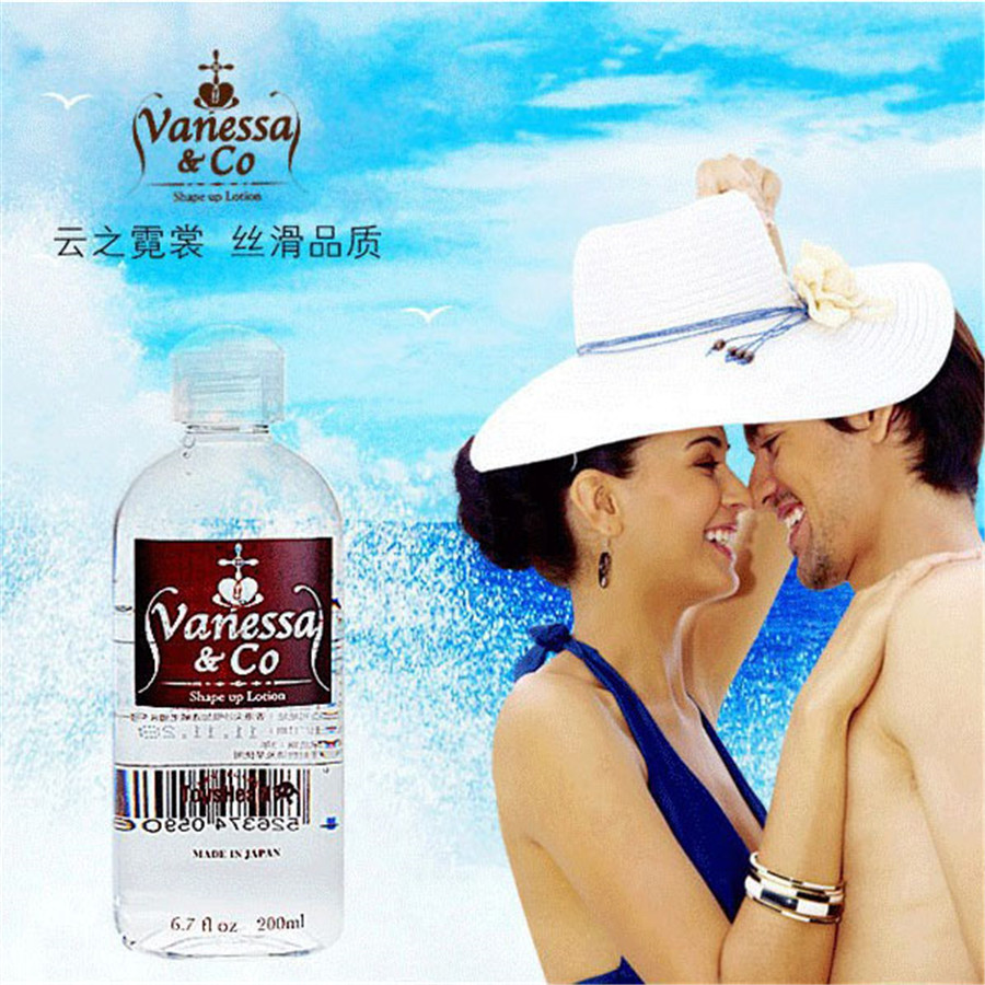 Japan Vanessa Water base Sex oil ,Super Drawing, AV lube,Lubricant,Vagina,Anal sex,Body Oil,oral Sex lubricant free shipping