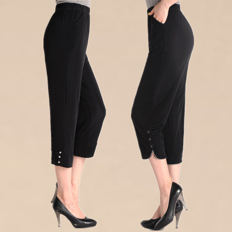capri dress pants - Pi Pants