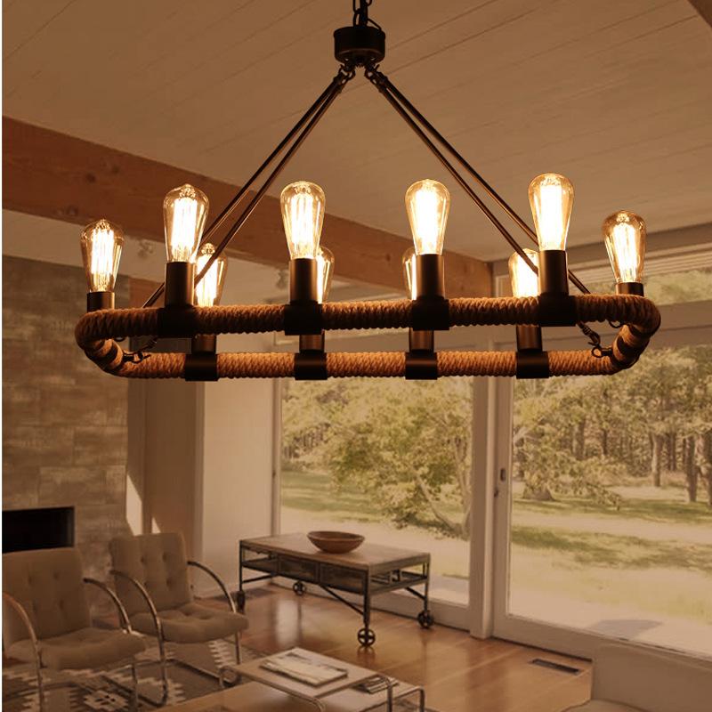 New vintage pendentif lampe clairage nordic lampes pastorale magasin de v te - Lustre ventilateur ikea ...