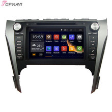 8′ Quad Core Android 5.1 Car Stereo GPS For TOYOTA CAMRY 2012- With DVD Radio Multimedia Map 16GB Flash Free Shipping