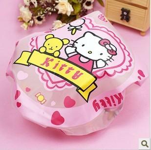 Super cute high curative value clearly practical cartoon bath cap/environmental protection bath cap pattern randomly