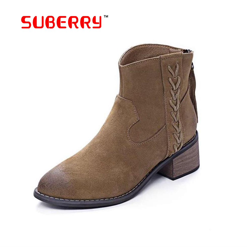 suberry brand 2016 new top quality shoes chelsea