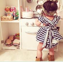 2015 summer baby girls dress + Briefs 2pcs suit  cute baby girl clothes Kids Set Vestido infant princess dresses Free Shipping(China (Mainland))
