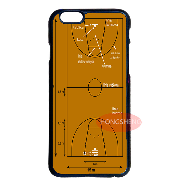Basketball Court Field Case for LG G3 G4 iPhone 4S 5S 5C 6 6S Plus iPod 4 5 6 Samsung S2 S3 S4 S5 Mini S6 Edge Plus Note 2 3 4 5(China (Mainland))