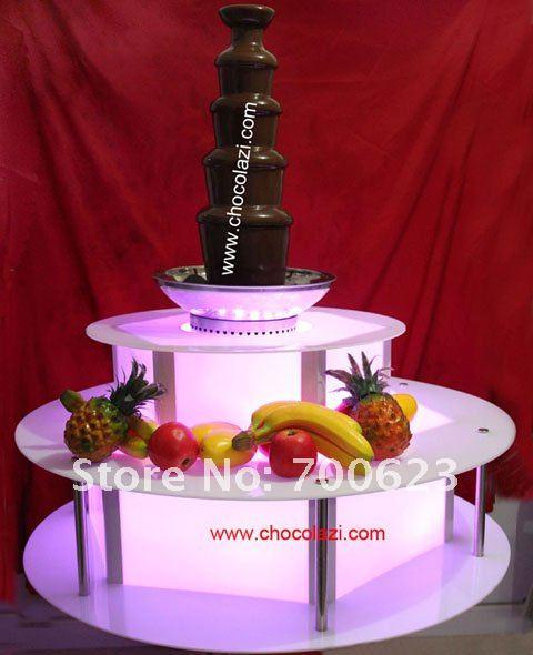 Illuminated base of chocolate fountain<br><br>Aliexpress