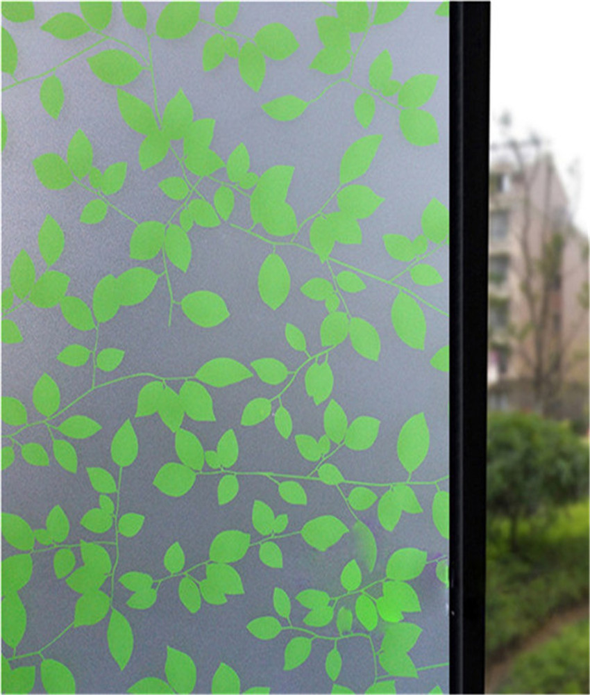 decorative stained glass window film home decor static